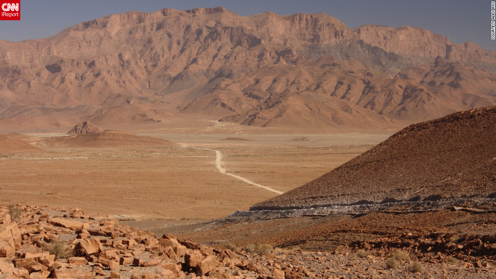 "<a href=""http://ireport.cnn.com/docs/DOC-825413"">Alex Ros</a> thinks of southeastern Morocco between Tata and Tafraoute as one of Earth's hidden nooks: ""As if the planet was a large living room, with furniture and areas that people regularly use, but far off in one of its corners, behind a large couch and side table with old coffee table books on it, underneath a rug that hasn't been moved for years, is a tiny pathway you had no idea was there."""