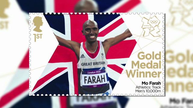 Olympic stars honored on stamps