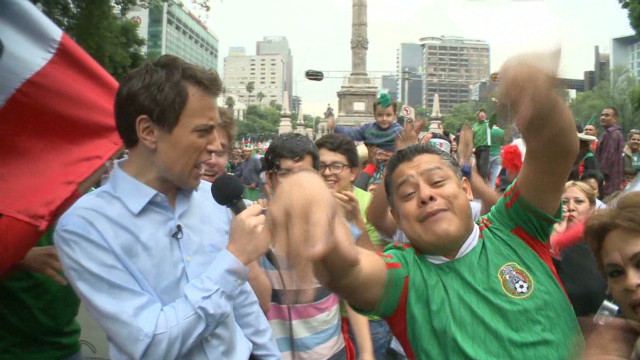 Mexico City reacts to Olympic win
