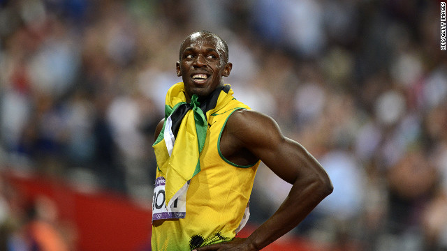 Usain Bolt reflects on winning the 200 meters final, the most talked about Olympic moment on Twitter.