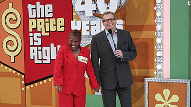 "Drew Carey hosts CBS' ""The Price is Right."""