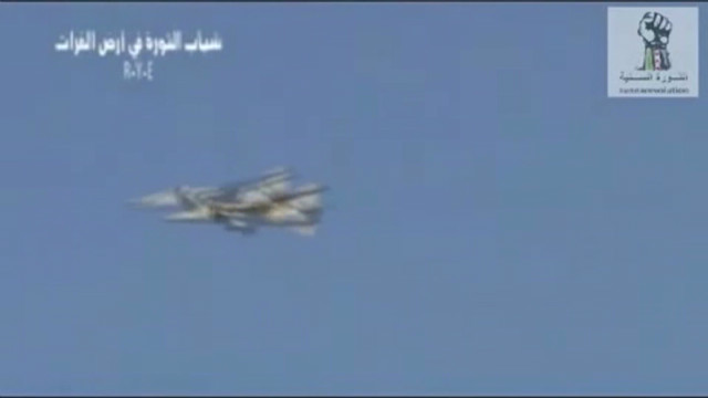 Rebels claim they shot down Syrian jet