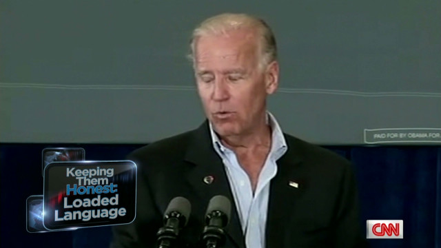 Biden responds to 'chains' criticism