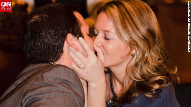 Stephanie Hayden's then-boyfriend, Chad, proposed to her in public at the Waldorf Astoria in New York.