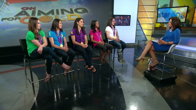 'Fierce Five' on being role models