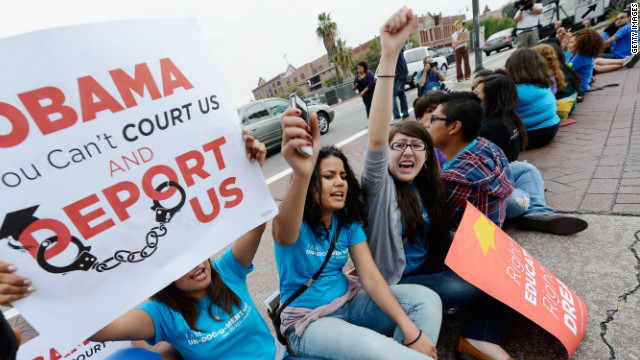 Immigrants' high hopes on Obama policy