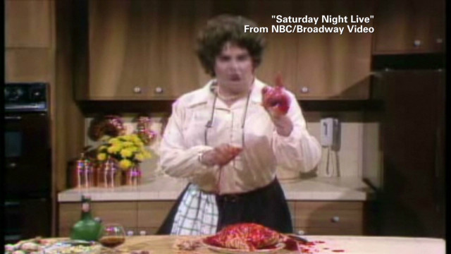 'Auto-tuned' Julia Child sings and cooks
