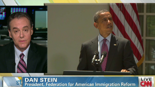 FAIR pres: Obama rewrote immigration law