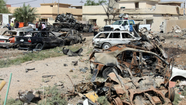 Iraq: three car bombs and two roadside bombs exploded in three separate locations, killing seven people.