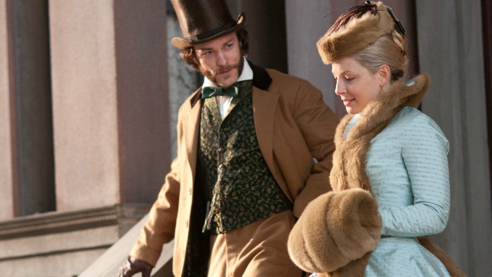 "Kyle Schmid and Anastasia Griffith portray aristocratic figures in ""Copper"" who find themselves getting closer to Five Points."