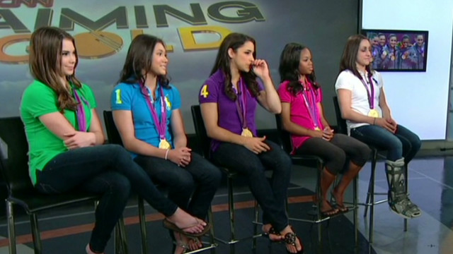'Fierce 5' laughs off mocking photos