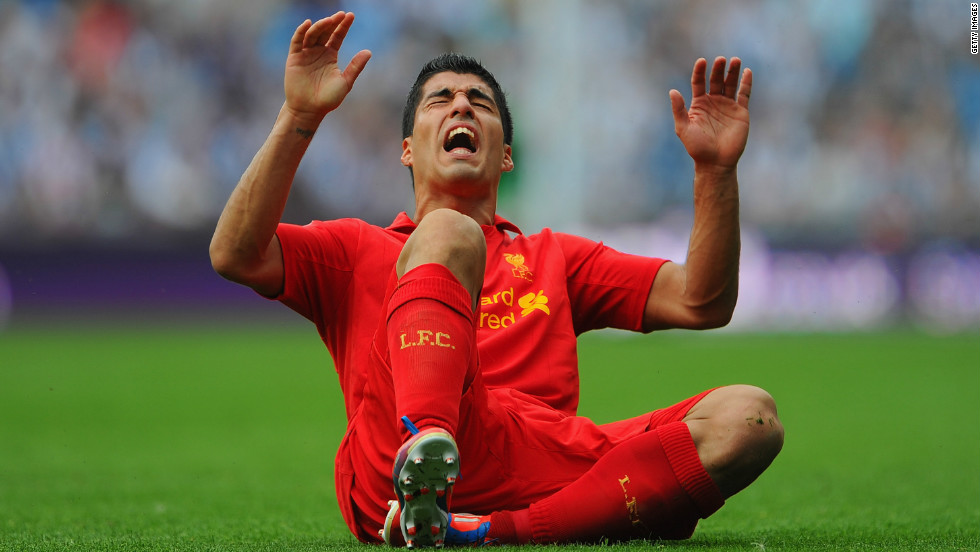 "Stoke City boss Tony Pulis wants the Football Association to punish Liverpool's Luis Suarez for diving. ""It's an embarrassment,"" said the Stoke manager after a 0-0 draw at Anfield. ""The FA should be looking at this."""