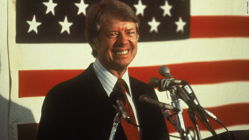 "<strong>PROMISE: ""I will never lie to you."" </strong>Carter's campaign pledge in the aftermath of Watergate helped him win the White House. However, political historians often point out that this promise did not insulate him from a voter backlash four years later over a sour economy, soaring energy prices, and the Iranian hostage crisis."