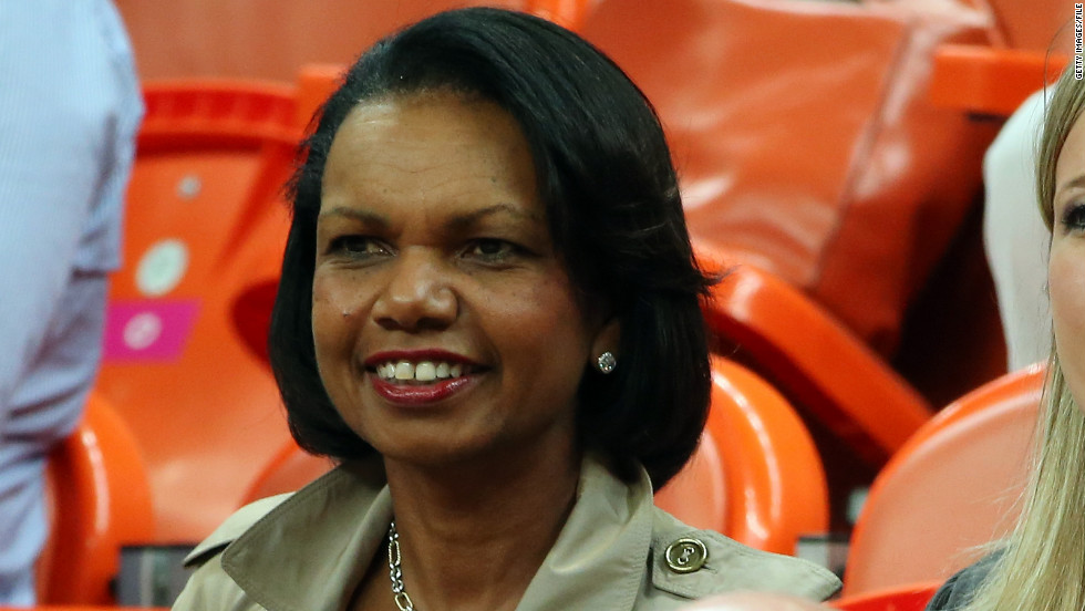 "Faculty and students at Rutgers University convinced former Secretary of State Condoleezza Rice<a href=""http://www.cnn.com/2014/05/04/us/condoleeza-rice-rutgers-protests/""> to decline her graduation invitation</a>. The protestors objected to Rice's actions during the war in Iraq."