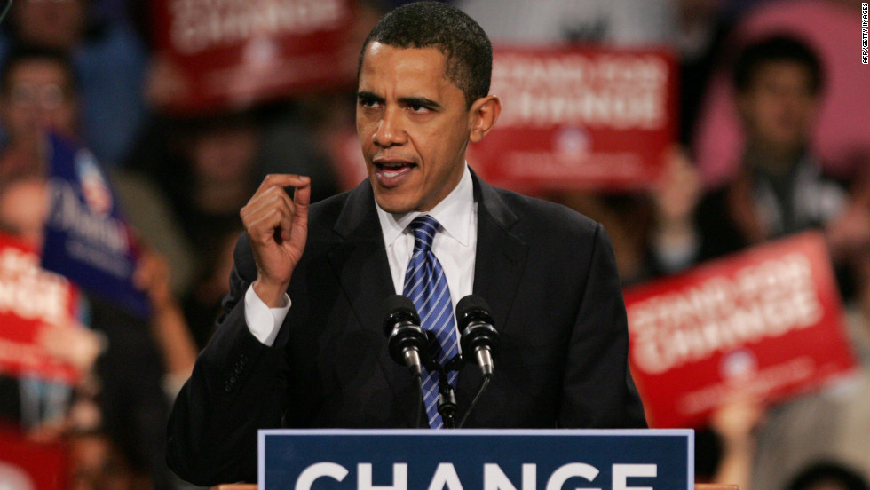 "<strong>PROMISE: ""If you choose change you will have a nominee who doesn't take a dime from Washington lobbyists and PACs."" </strong> According to PolitiFact, a website that gauges accuracy of political statements, Barack Obama's 2008 claim is only partly true. The group said the Obama campaign, like others before it, uses a narrow definition of lobbyist that allows them to say that they do not accept their donations."