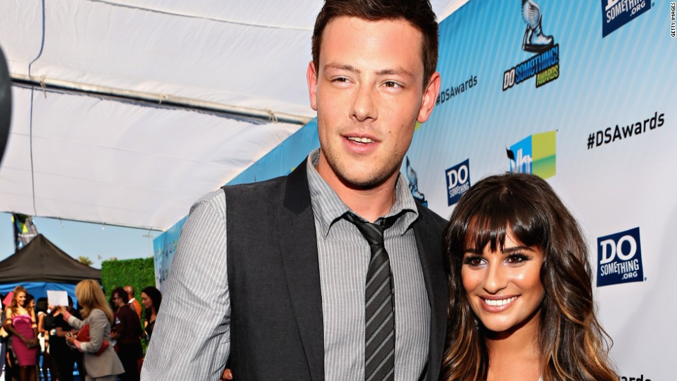 Lea Michele remembers late boyfriend