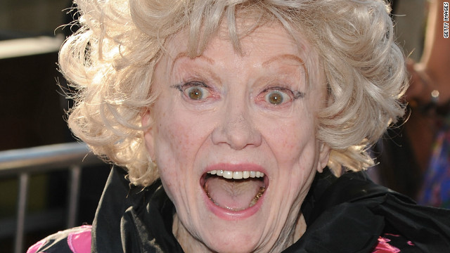 2011: Phyllis Diller teases Anderson