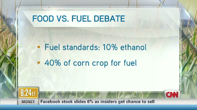 Ethanol debate heats up after drought