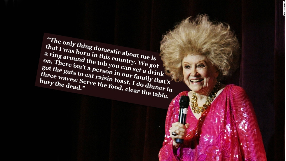 Phyllis Diller, who died this week, made an artform out of wisecracking. She was prolific, self-deprecating and slyly radical: Her jokes tended to focus on her failings as a housewife, her lack of sex appeal, and the shortcomings of an imaginary husband and overweight mother-in-law.