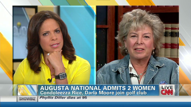 Augusta National admits 2 women