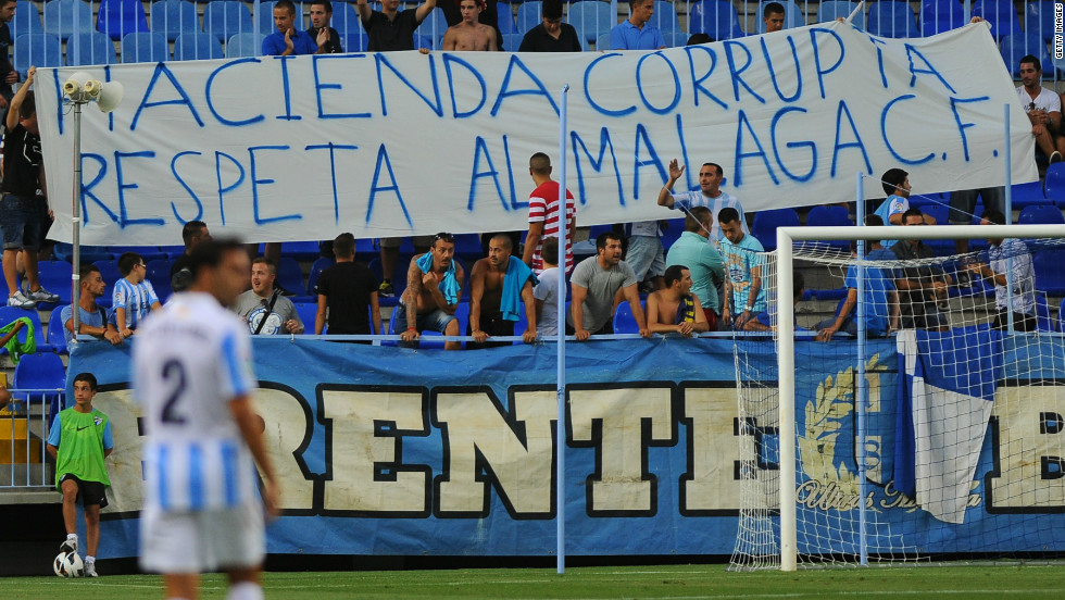 Malaga's fans have been left in the dark where Al Thani and the club's future is concerned. Some supporters accused journalists of attempting to destabilize the team with stories of wages not being paid.