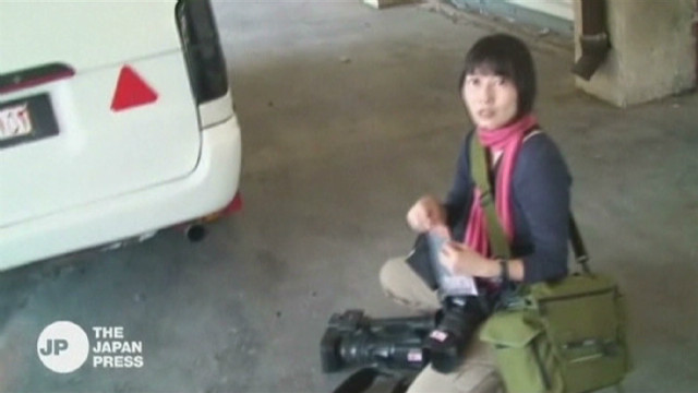 Japanese journalist killed in Syria