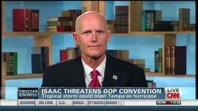 Isaac threatens GOP convention