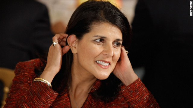Gov. Nikki Haley of South Carolina is of Indian-American descent.