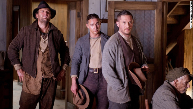 "Tom Hardy stars in ""Lawless,"" written by Nick Cave and directed by John Hillcoat."