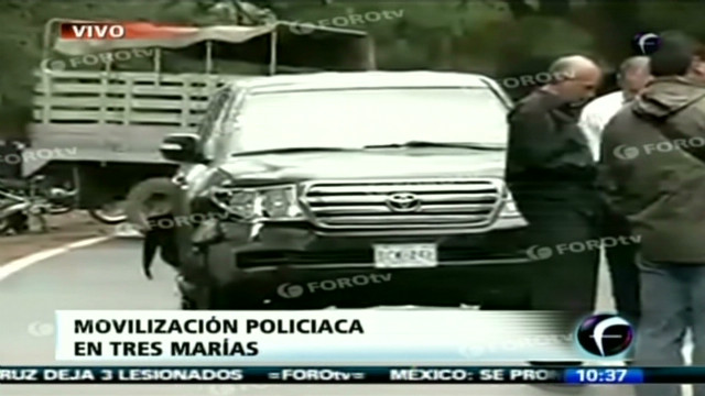 mexico vehicle diplomat attack foro tv_00000817