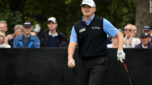 Paul Lawrie strode to a commanding four shot victory in the Johnnie Walker Championship at Gleneagles.