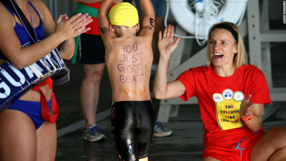 "One participant mocks competitors with this message: ""You just got beat by a 6 yr old."""