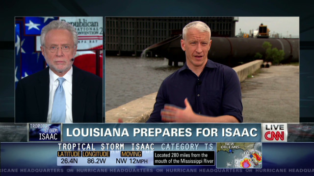 Anderson Cooper reports from NOLA