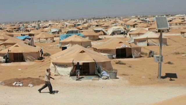 UNICEF: Jordan refugee camp overwhelmed