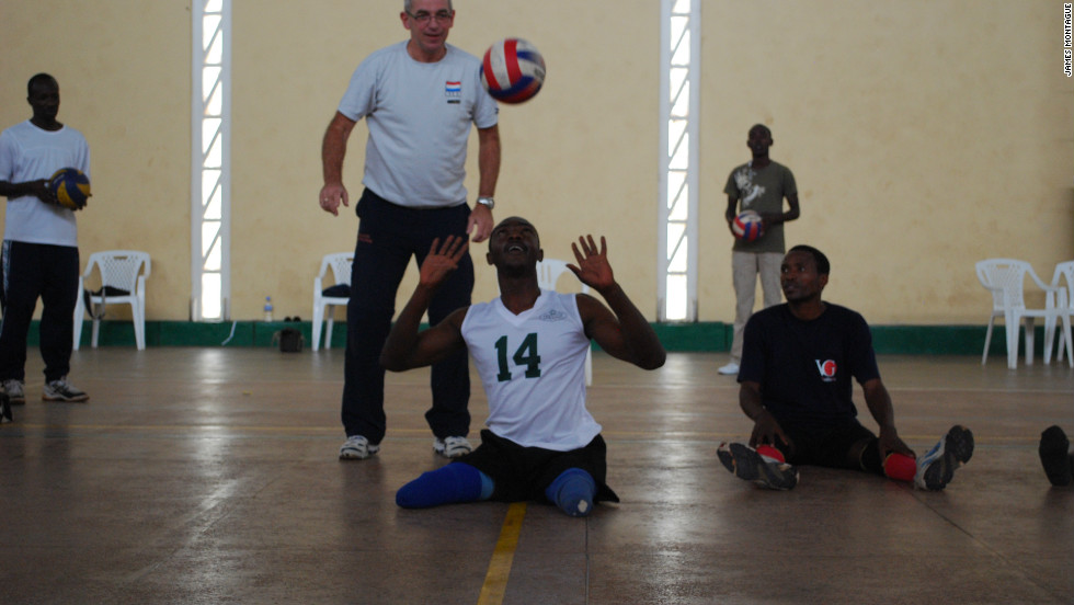 "Team captain Dominique Bizimana told CNN: ""I think we are superstars. For us disability is nothing. We are able. We are making sure we tell people disability is nothing. It is not inability."""