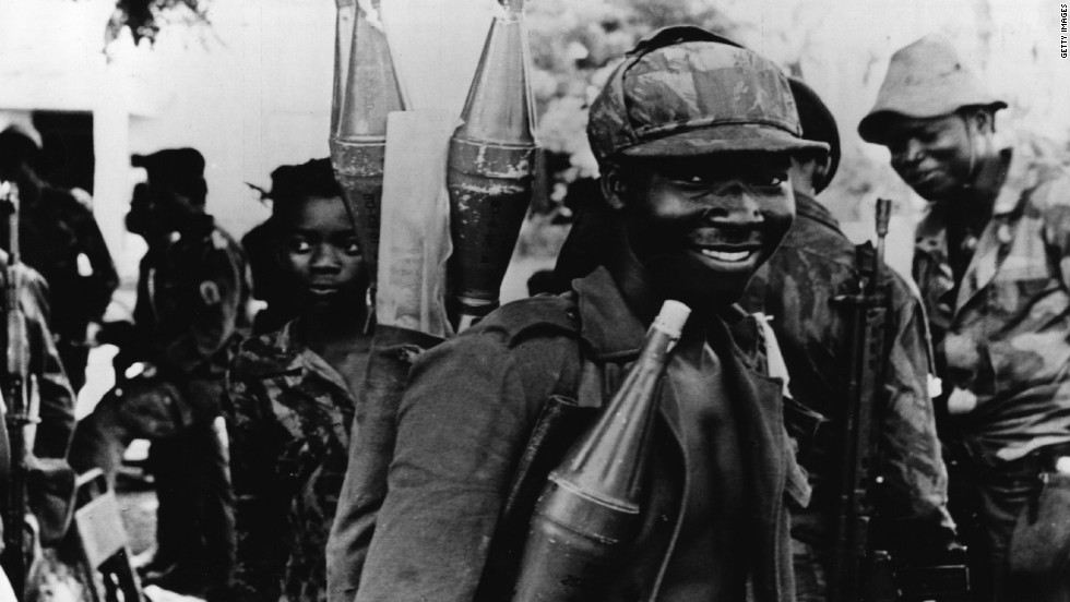 After Portugal's decision to cede power in the African country in the mid-1970s, pro-U.S. UNITA and MPLA, backed by the Soviet Union and Cuba, fought a proxy Cold War for control of the country and its vast resources.