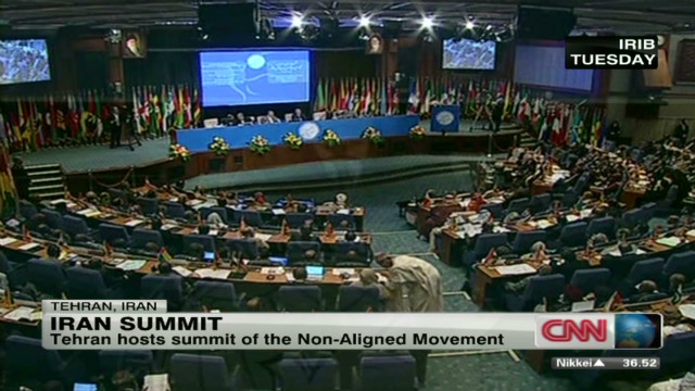 Iran hosts Non-Aligned Movement summit