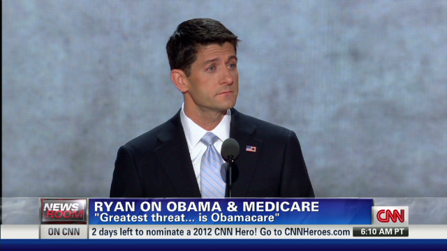 Ryan on Obama and Medicare