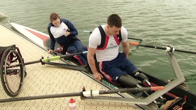 Wounded warriors in Paralympics