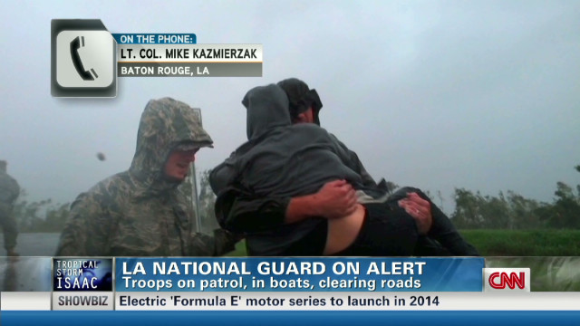 La. Nat. Guard evacuates 3,000 people