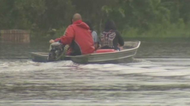 More flooding, rescues in Isaac's wake
