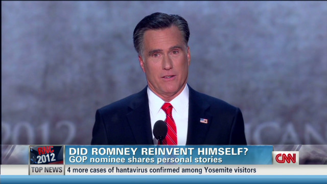Did Romney reinvent himself?