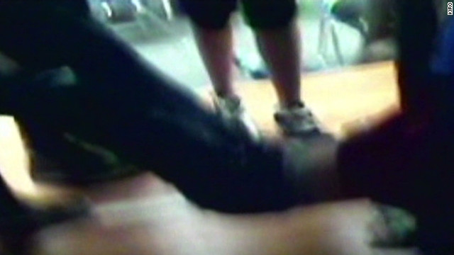 Teacher accused of bullying on video
