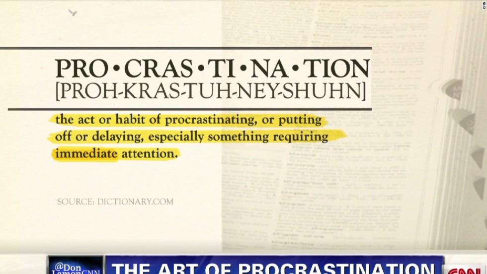 Procrastination is in your genes
