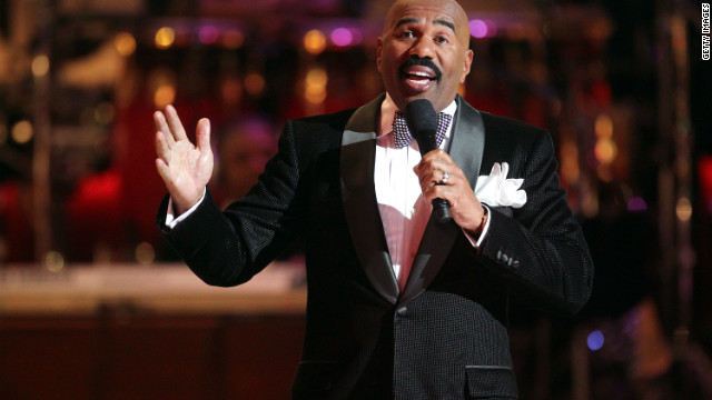 Steve Harvey hosted BET's Celebration of Gospel at the Orpheum Theatre in Los Angeles in March.