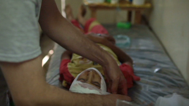 Syrian's duty: Record the dying