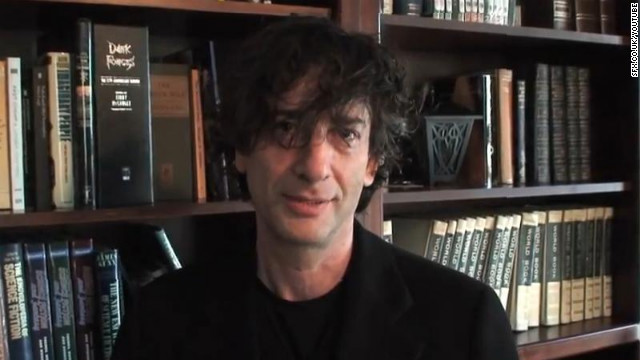 Writer Neil Gaiman was accepting a Hugo Award Sunday when copyright software shut down the live stream.