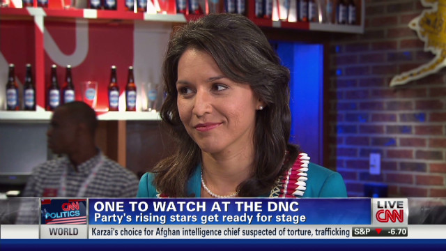 One to watch at the DNC