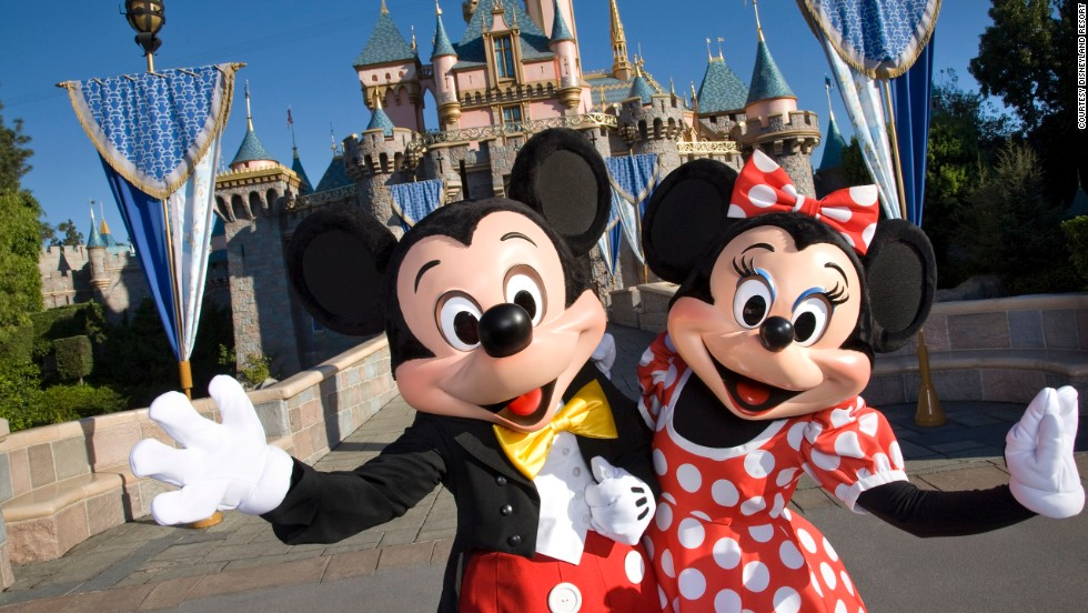 Mickey, Minnie and measles for nine Disneyland tourists