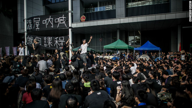 New curriculum angers Hong Kong students